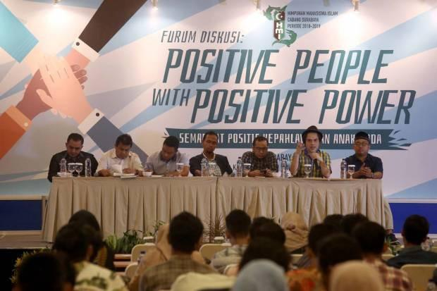 HMI Surabaya Tegas Menyuarakan Kebenaran di Momen People Power yang Konstitusional