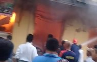 Pasar Anom Baru Sumenep Hangus Terbakar
