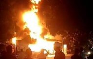 Pom Mini Milik Anggota DPRD Sumenep Terbakar