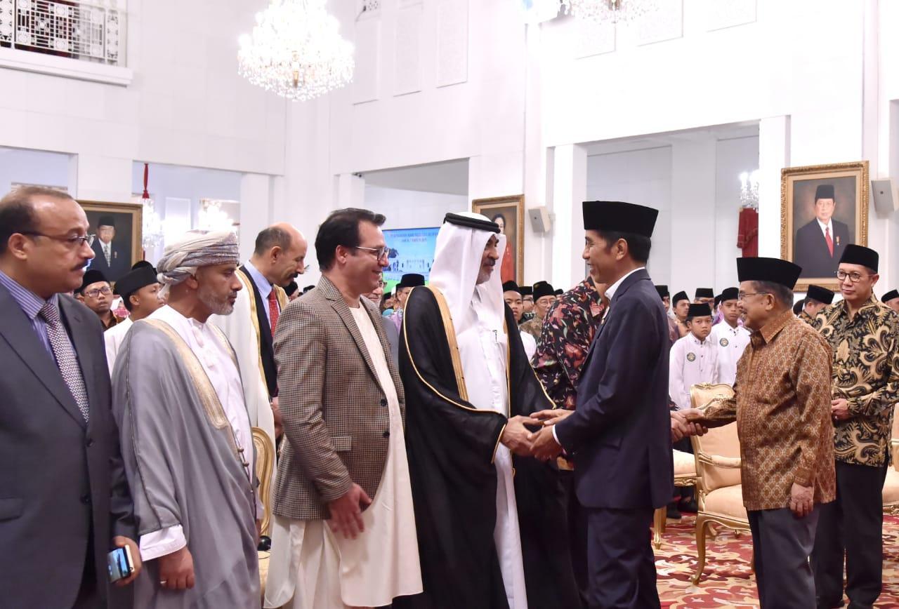 Presiden: Peringatan Nuzulul Quran, Inspirasi Meneguhkan Persatuan Bangsa