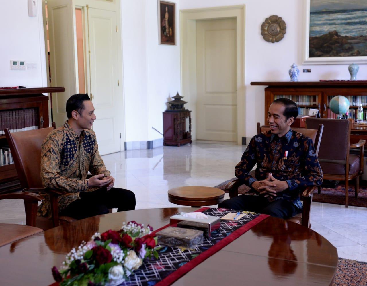 SBY Sampaikan Ucapan Selamat kepada Presiden Jokowi
