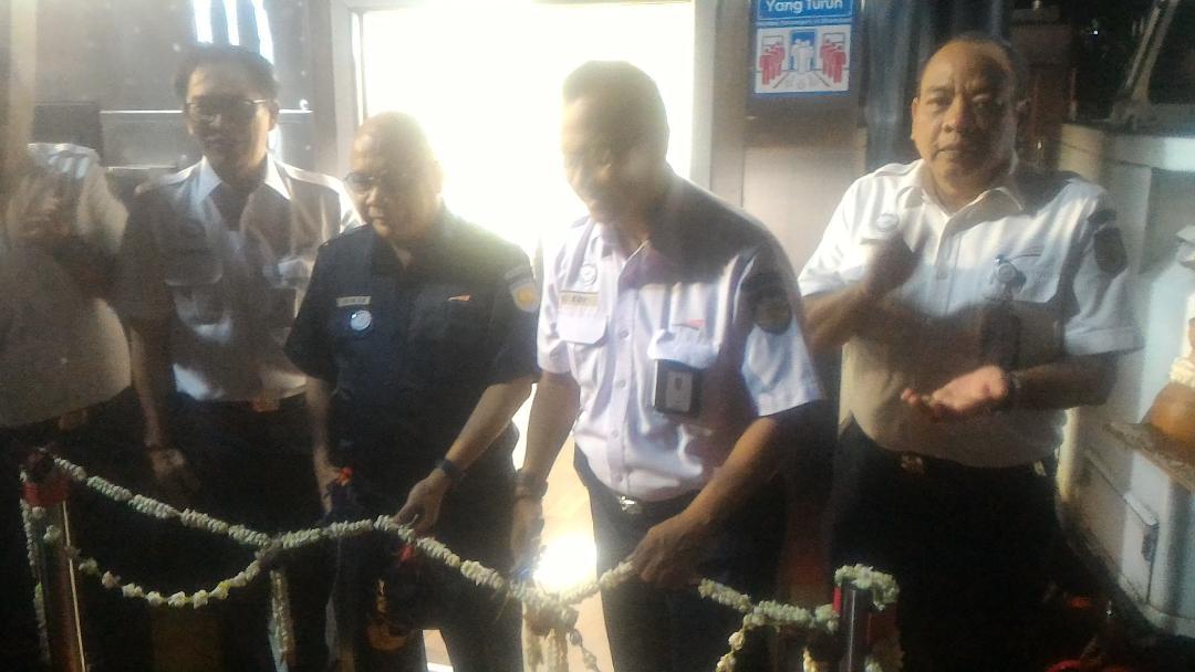 KAI Luncurkan Kereta Luxury 2 di Stasiun Gambir