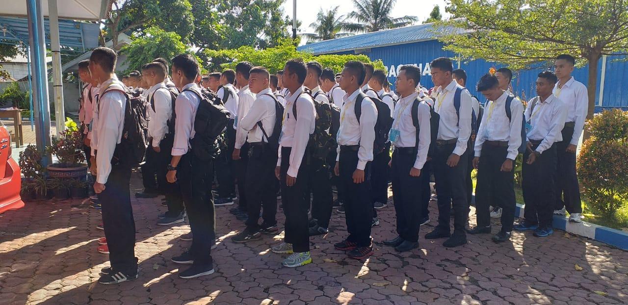 Test Caba Gel I Tahun 2019 di Mako Lanal Banyuwangi