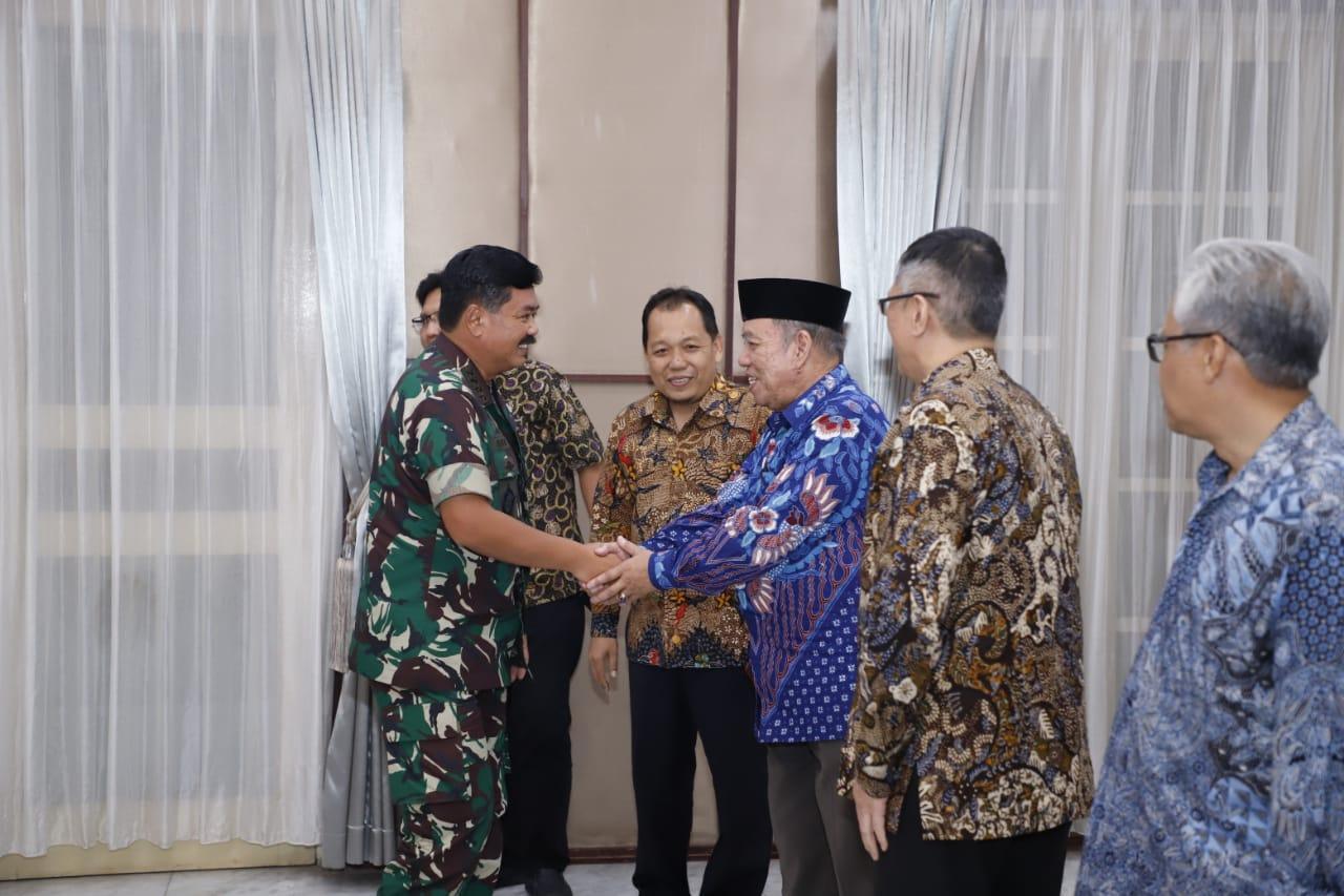 Panglima TNI Terima Kunjungan Silaturahmi Tokoh-Tokoh Nasional