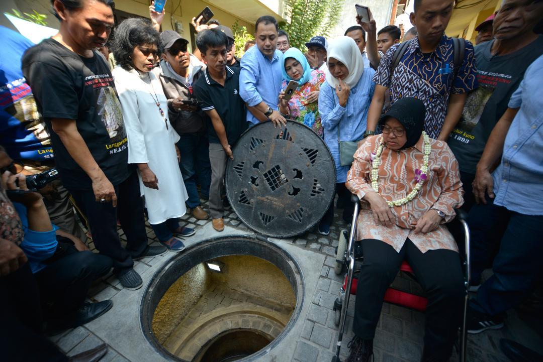 Wali Kota Risma Menelusuri Jejak Sejarah di Kampung Peneleh