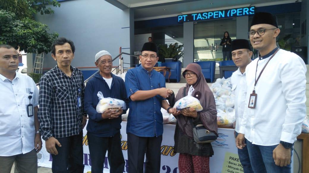 PT Taspen Persero Cabang Ternate Gelar Safari Ramadan Pasar Murah.