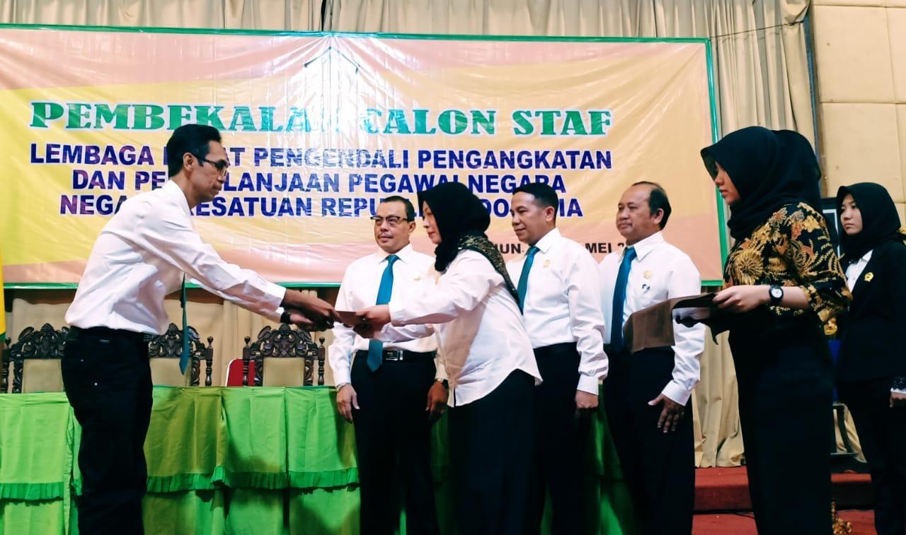 LP5N-NKRI Berikan Pembekalan 300 Orang Calon Staff Pegawai