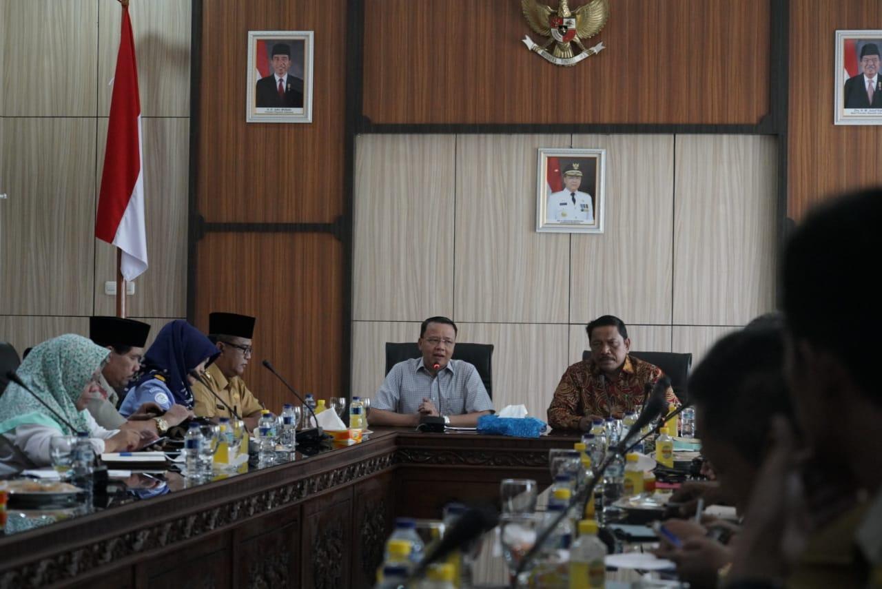 Audensi Bersama Gubernur, Bupati Mian Sampaikan Isu Strategis Pembangunan Untuk Bengkulu Utara