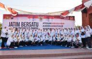 Forkopimda dan Warga Mojokerto Deklarasi Wujudkan Indonesia Damai