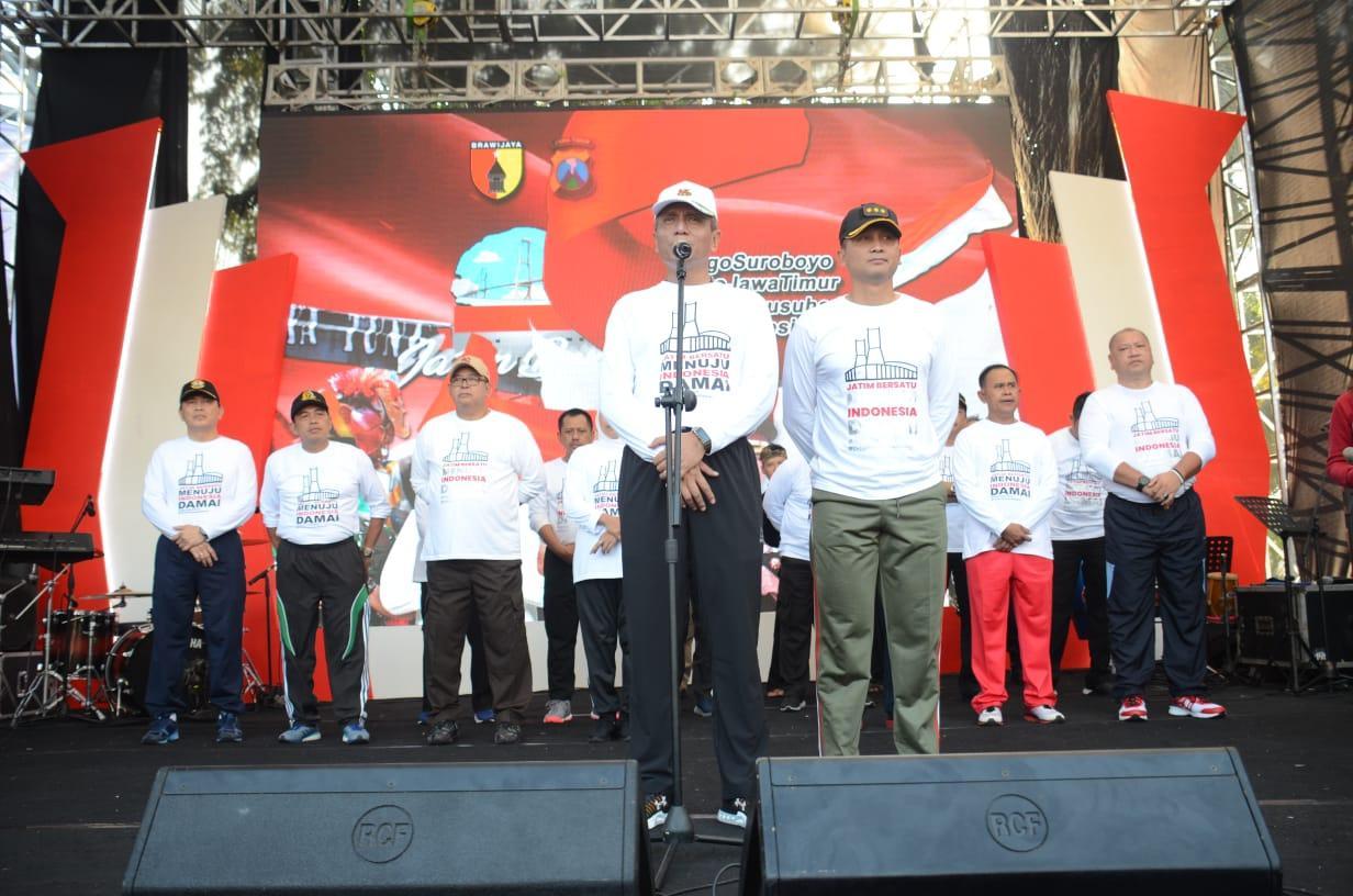 Forkopimda dan Masyarakat Jatim Sepakat Wujudkan Indonesia Damai
