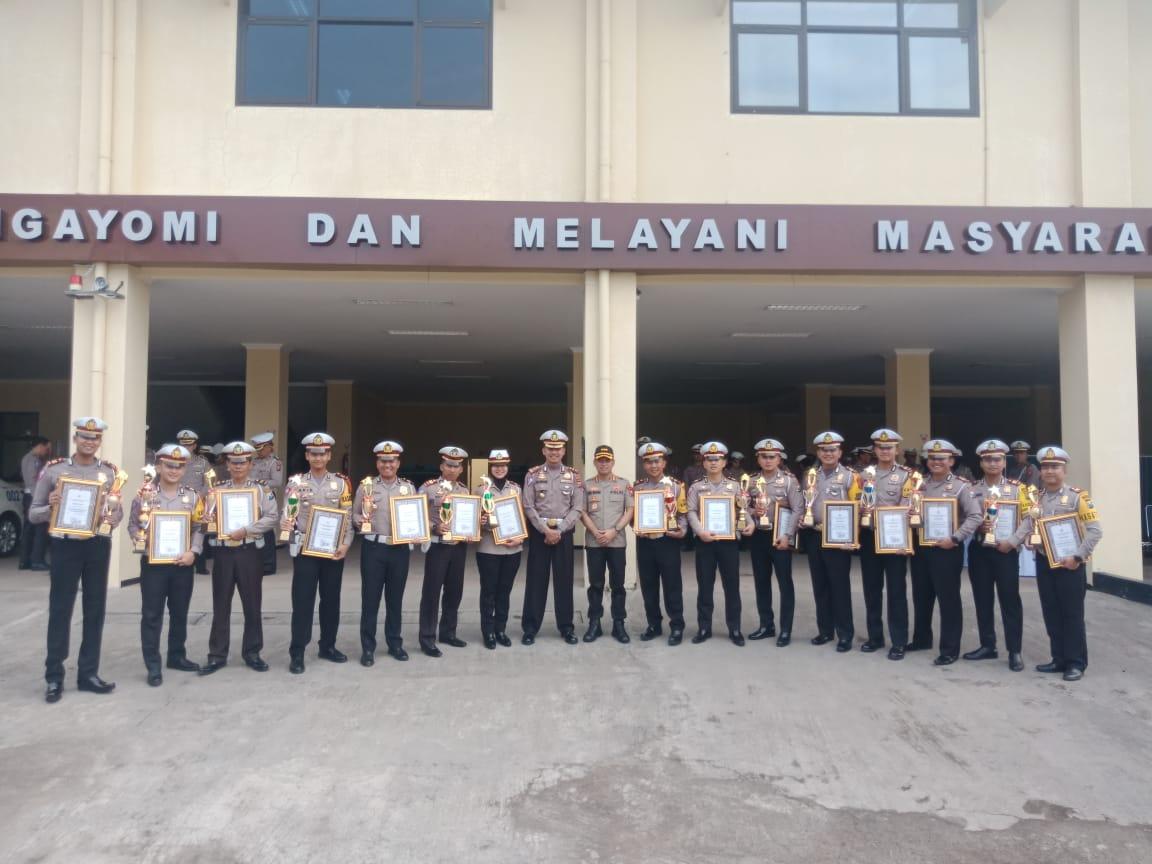 Pos Pelayanan Polres Situbondo  Raih Juara dua Untuk Tipe B se-Polda Jatim