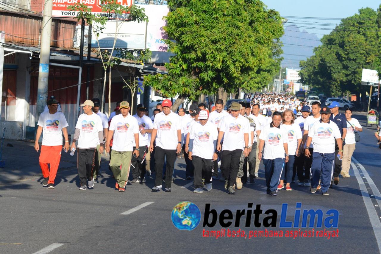 """Tagline """"Tolak Kerusuhan"""" dari Situbondo Untuk Indoneaia Dalam HUT Bhayangkara ke-73"""