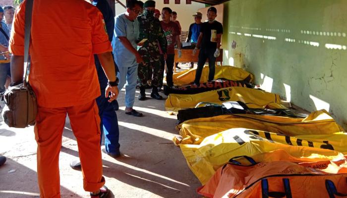 Data Polda Jatim, Korban Kapal di Madura Sebanyak 60 Orang