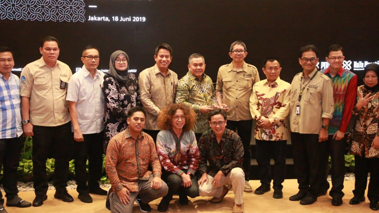 Usung Pempek, Pemkot Palembang 4 Besar Pemilihan Kabupaten/ Kota Kreatif Se-Indonesia 2019