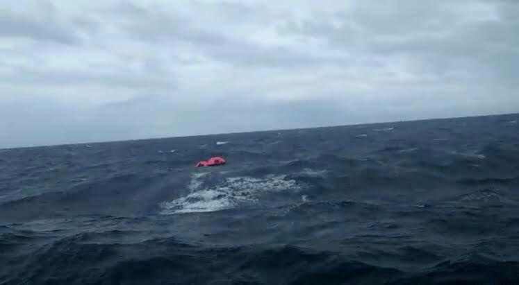 KM Amin Jaya Kecelakaan Laut 2 Orang Meninggal