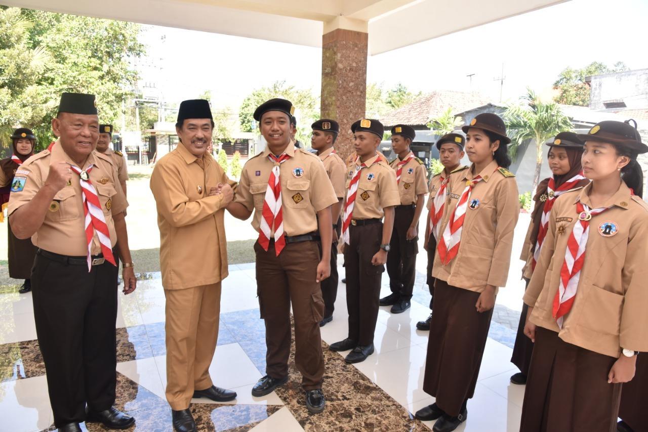 Kak Nur, Bangga Kontingen Kwarcab Sidoarjo Ikuti RSCLS 2019