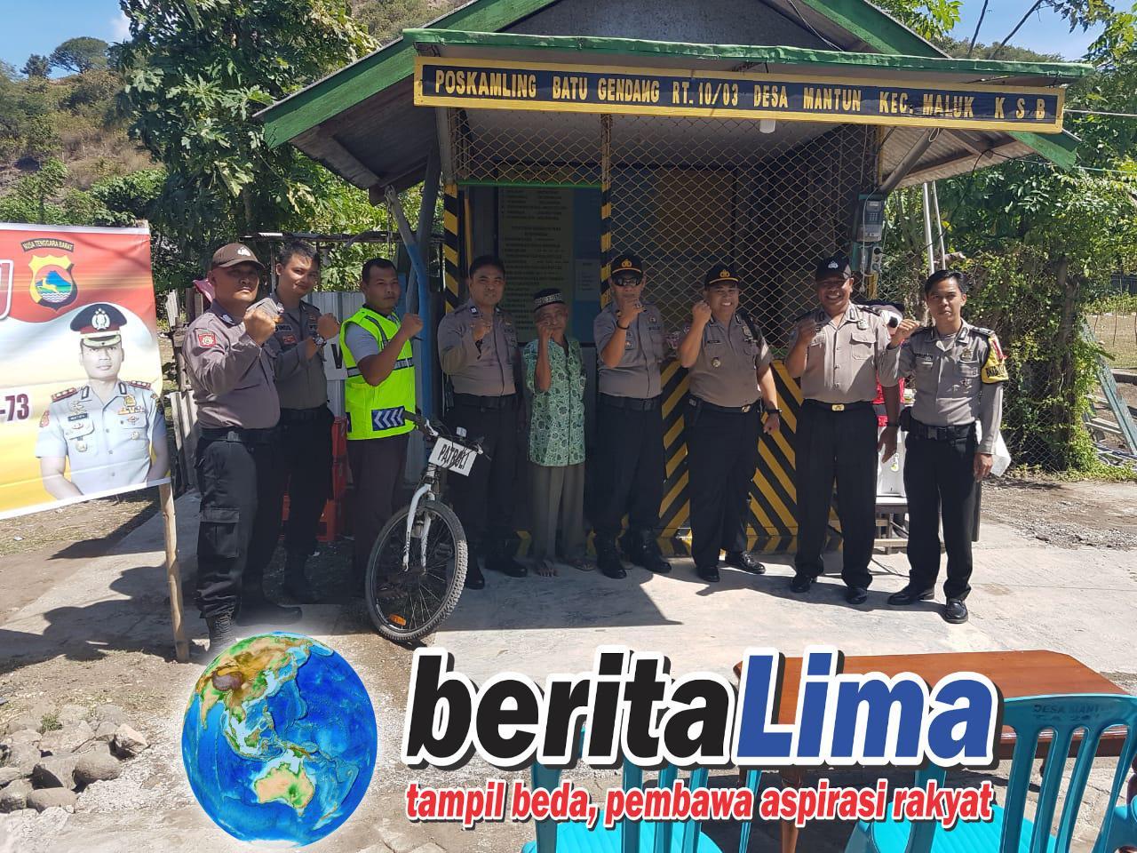 Jelang HUT Bhayangkara Ke 73 Kepolisian Gelar Lomba Pos Kamling Guna Tingkatkan Kamtibmas