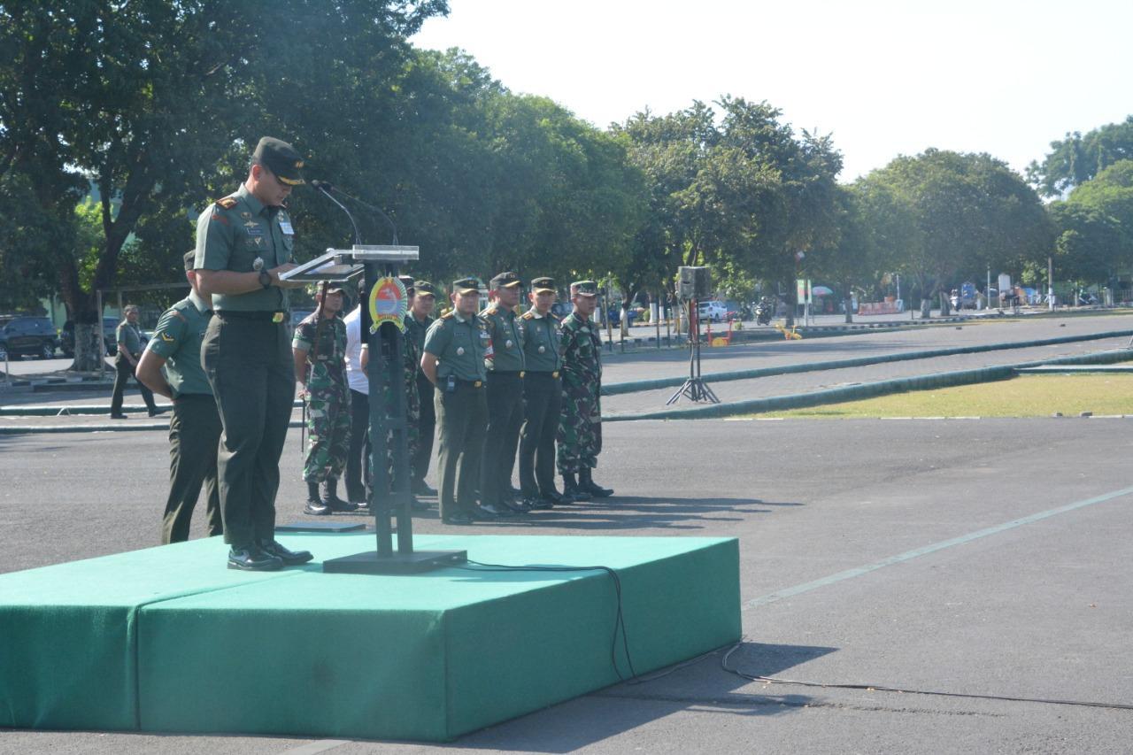 Jelang Kunjungan Presiden RI, Kolonel Sudaryanto Siagakan Personel Pengamanan