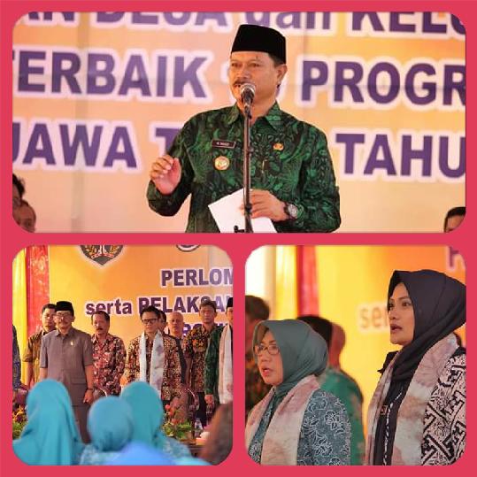 Tim Penilai Apresiasi Program-Program Kelurahan Patihan, Kota Madiun