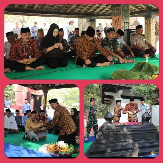 Rangkaian Peringatan Hari Jadi Kota Madiun, Walikota-Wawali Ziarahi Makam Pendahulu