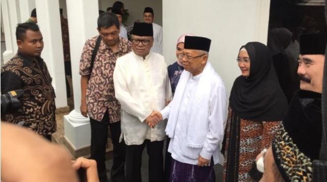 Soal Menang Pilpres 2019, Ma'ruf Amin: Ibarat Kawin, Masih Digantung