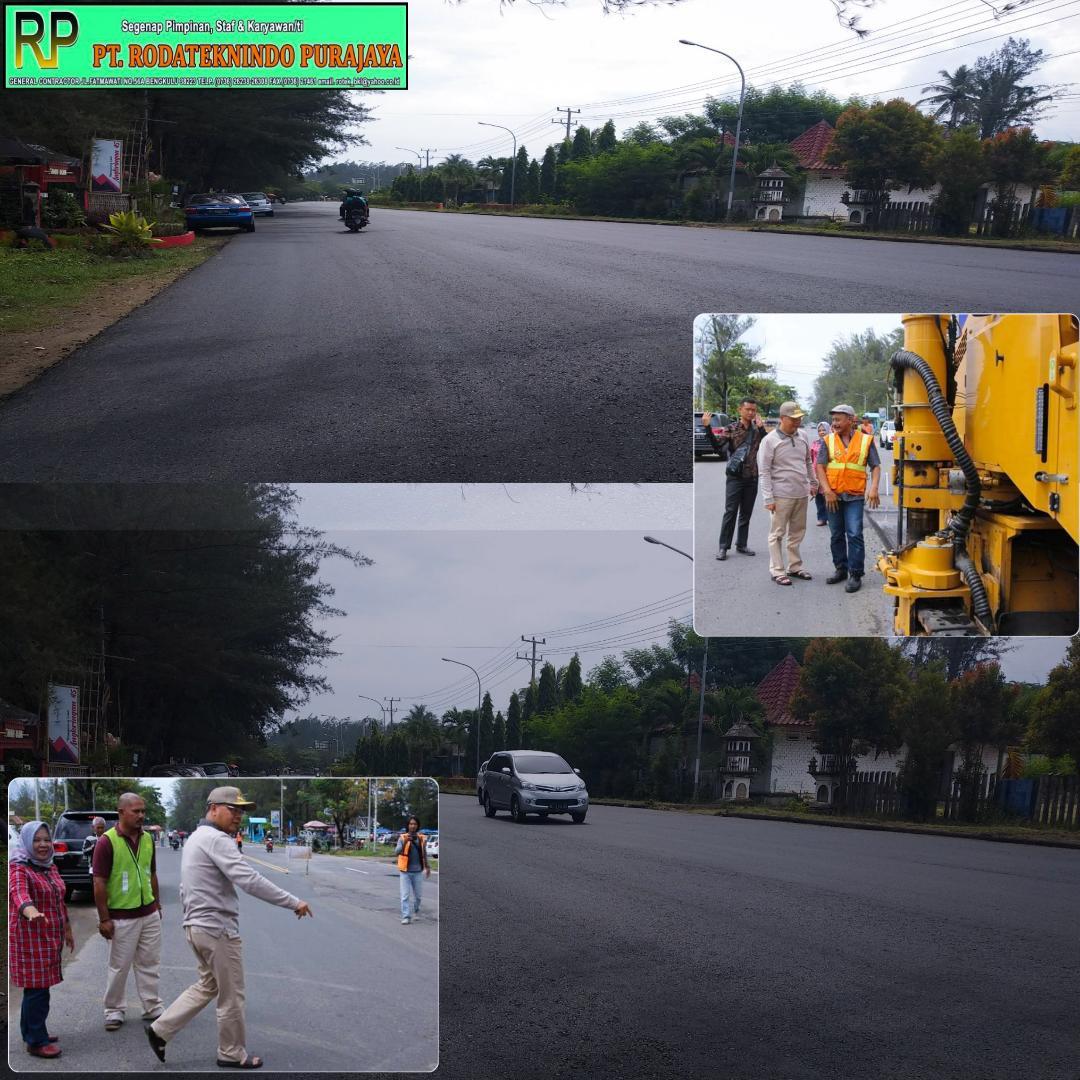 PT Rotek Kembali Dipercaya Untuk Pekerjaan Jalan Pantai Panjang Bengkulu
