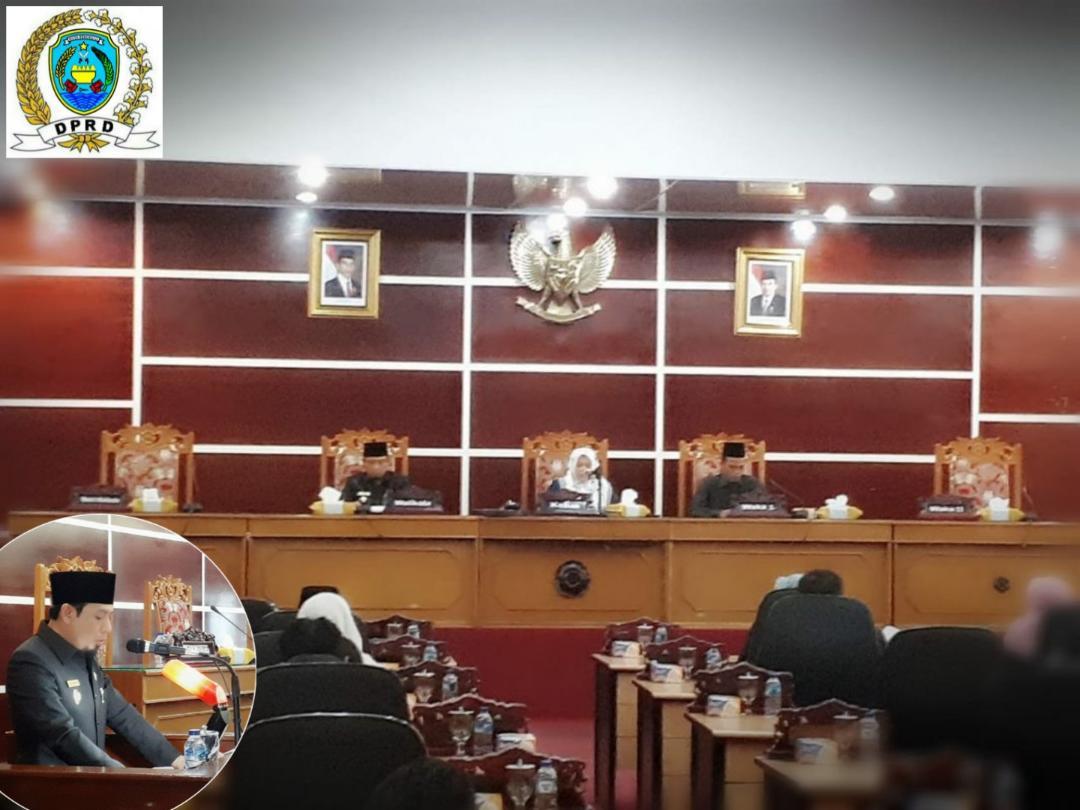 Paripurna DPRD Kota Bengkulu: Wawali Sampaikan Nota Pengantar LPJ APBD 2018