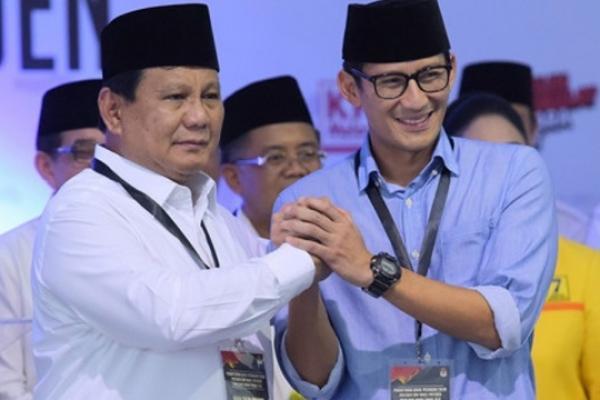 Tidak ke MK, Prabowo-Sandi Minta Pendukung 02 Berdoa