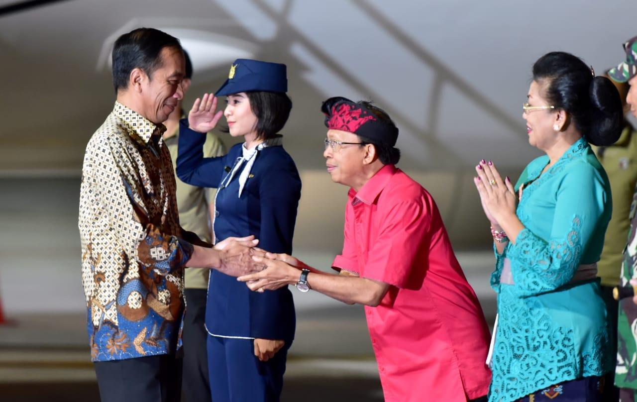 Presiden Bertolak ke Bali untuk Kunjungan Kerja