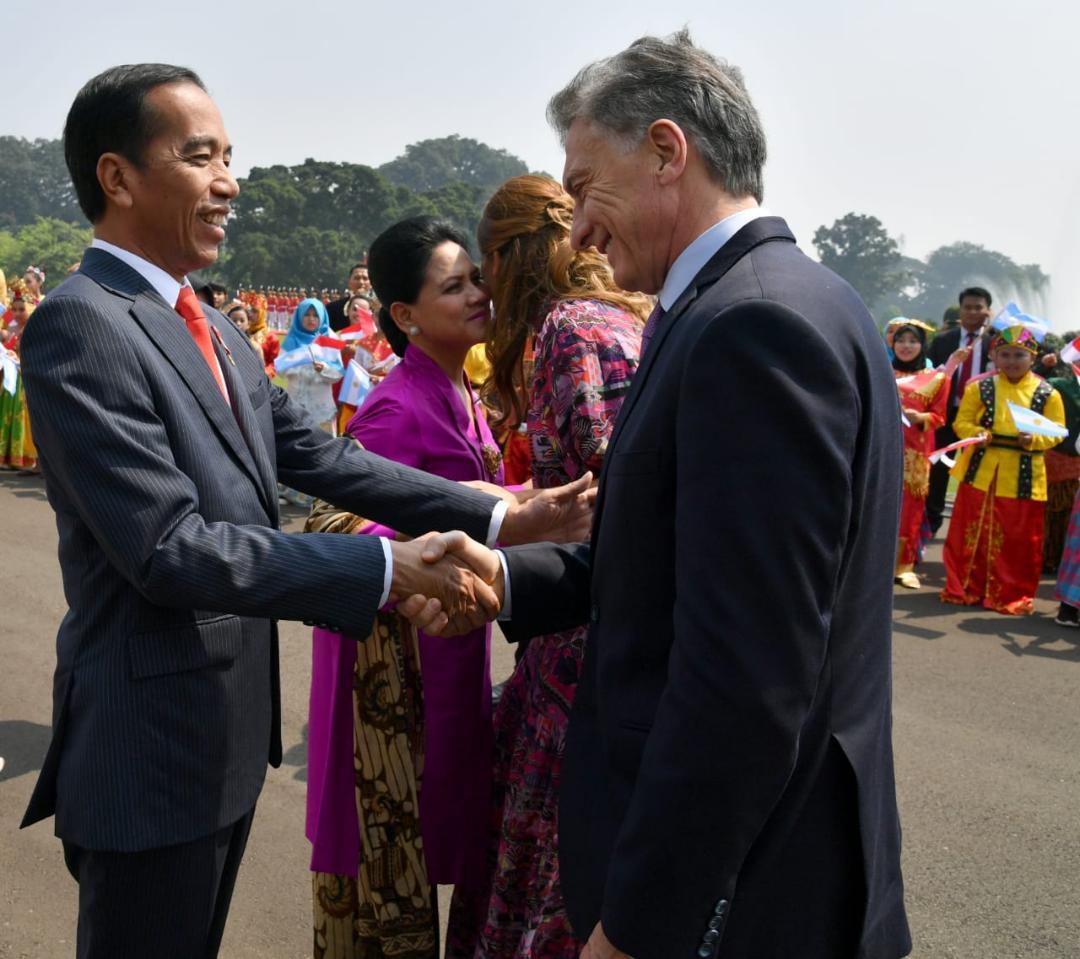 Presiden Jokowi Ingin Indonesia dan Argentina Perkuat Kerja Sama di Tiga Bidang
