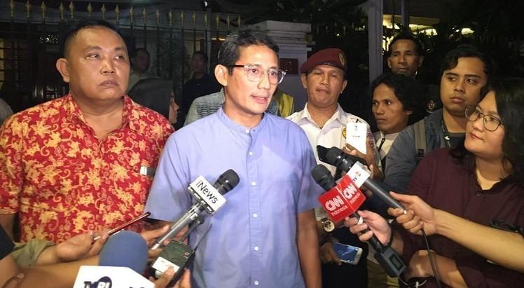 Sandi: Prabowo Minta Pendukung Tidak ke MK Saat Sidang Pilpres 2019