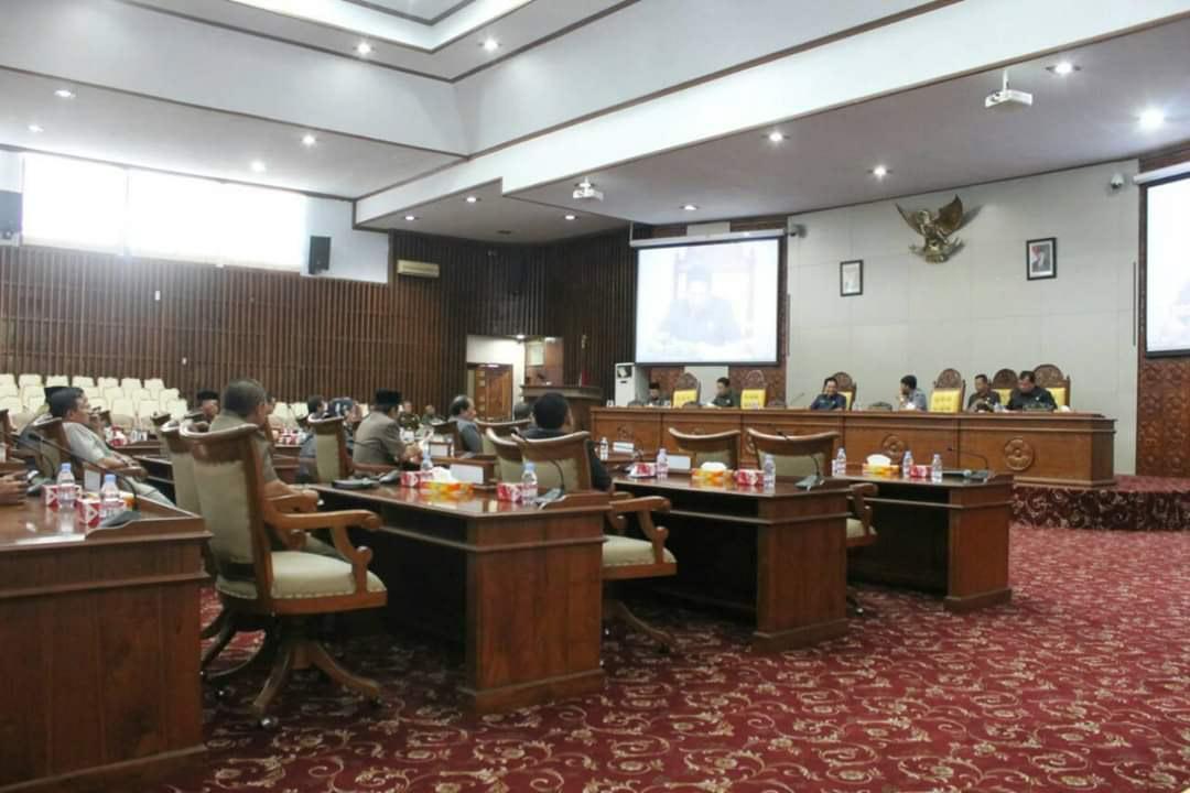 Rapat Paripurna DPRD Provinsi Bengkulu ke -V Masa Persidangan ke- II Tahun Sidang 2019