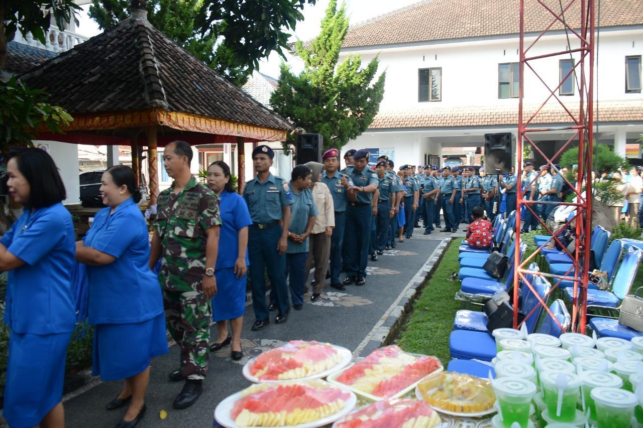 Halal Bihalal dan Silaturrahmi Keluarga Besar Pangkalan TNI AL Denpasar