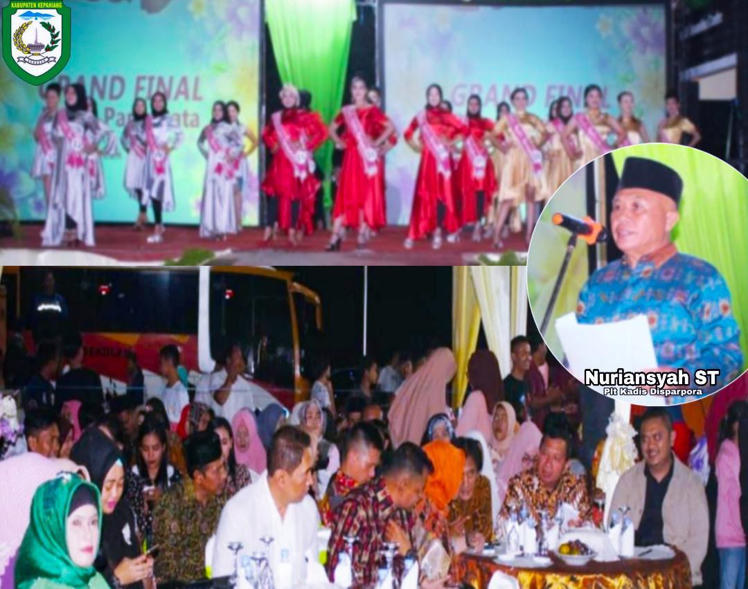 Grand Final Pemilihan Puteri Pariwisata Kepahiang Sukses Terlaksana