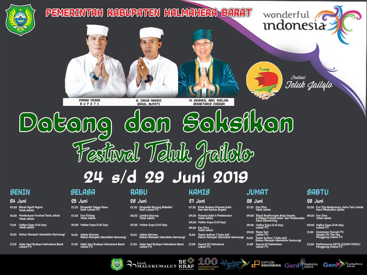 Pemkab Halbar : Wonderful Indonesia, datang dan saksikan FTJ 2019