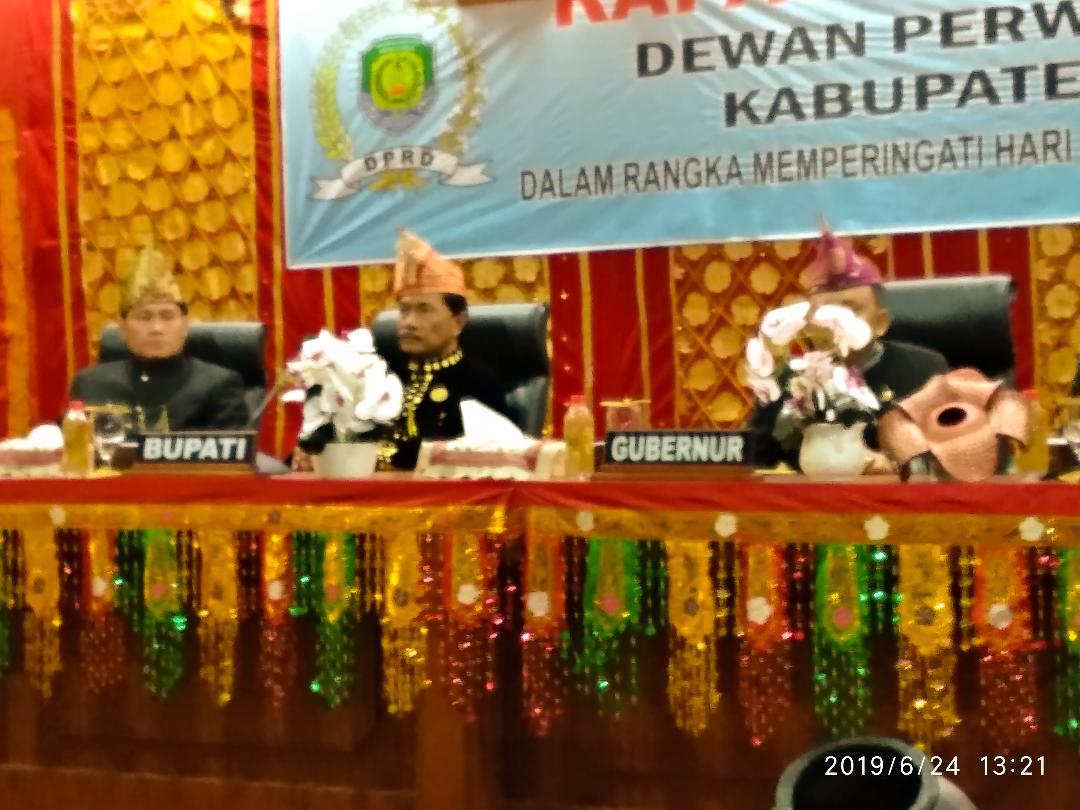 Paripurna Istimewa HUT Kabupaten Benteng Ke-11 Tahun. Banyak Pencapaian Yang Diperoleh