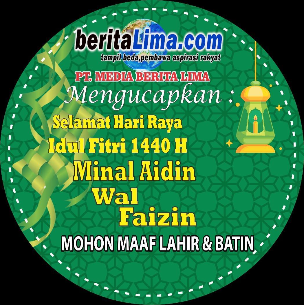 Efendi: Selamat Idul Fitri 1 Syawal 1440 H