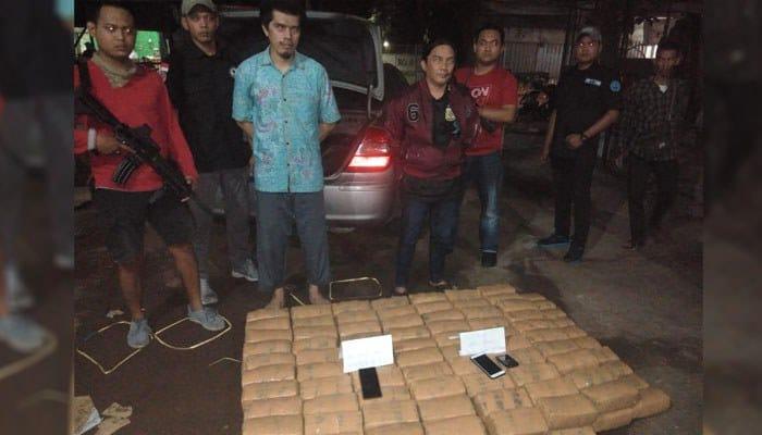 BNN Provinsi Banten Gagalkan Penyelundupan 150 kg Ganja Asal Aceh