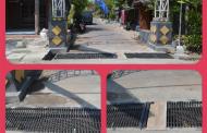 Besi Jembatan Proyek Saluran Lingkungan Bikin 'Celaka' Pengguna Sepeda