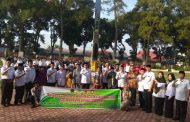 Bupati Hijazi Lepas Peserta Pelatihan Keterampilan Bagi Penyandang Disabilitas Ke BRSPDSN Bekasi