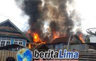 Delapan Rumah Warga Seteluk KSB Ludes Di Lalap Si Jago Merah