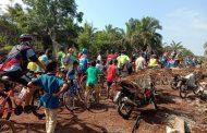 HUT Kodam I/BB dan TMMD Ke 105 Desa Cinta Makmur Dibanjiri Sepeda