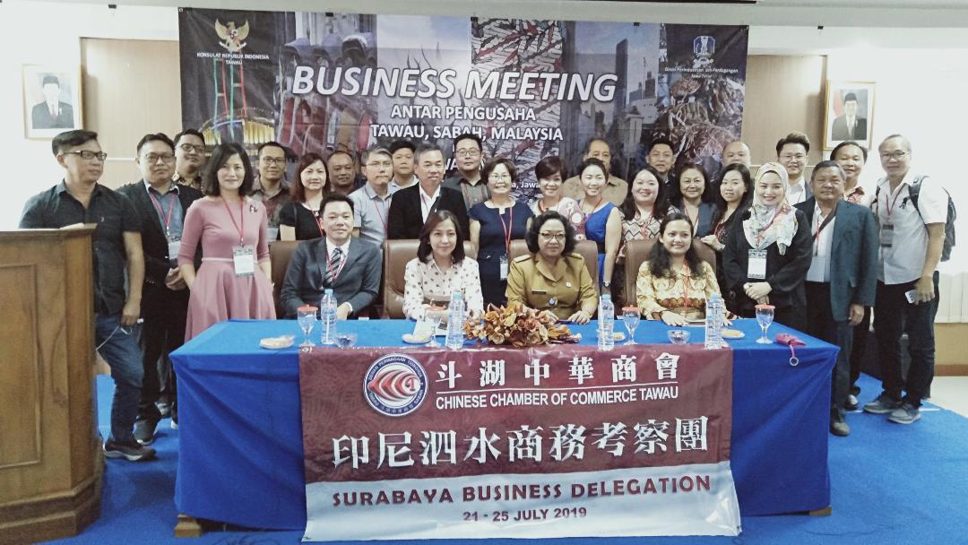 Disperindag Jembatani Pertemuan Pengusaha Jatim dan Tawau Malaysia