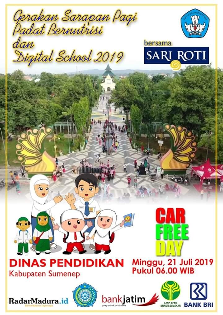 Launching Digital School, Ribuan Siswa Bakal Ramaikan CFD