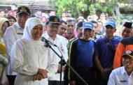 Gubernur Khofifah Siapkan Opsi Pembuatan Sumur Bor dan Pipanisasi Atasi Kekeringan