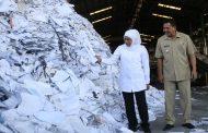 Gubernur Khofifah Jajaki Pengolahan Sampah Plastik Menjadi Energi Listrik