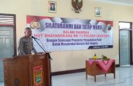 Polsek Leksono Peringati HUT Bhayangkara Ke-73 di Aula Kecamatan
