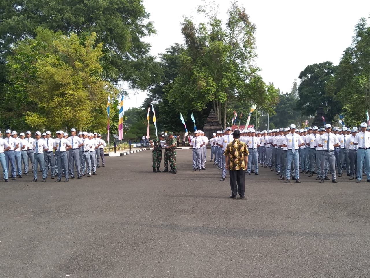 Disdikpora Wonosobo Lakukan Seleksi Calon Paskibra Kabupaten