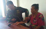 Jumirah, Warga Miskin Sasaran TMMD Terima Pelayanan Kesehatan Gratis