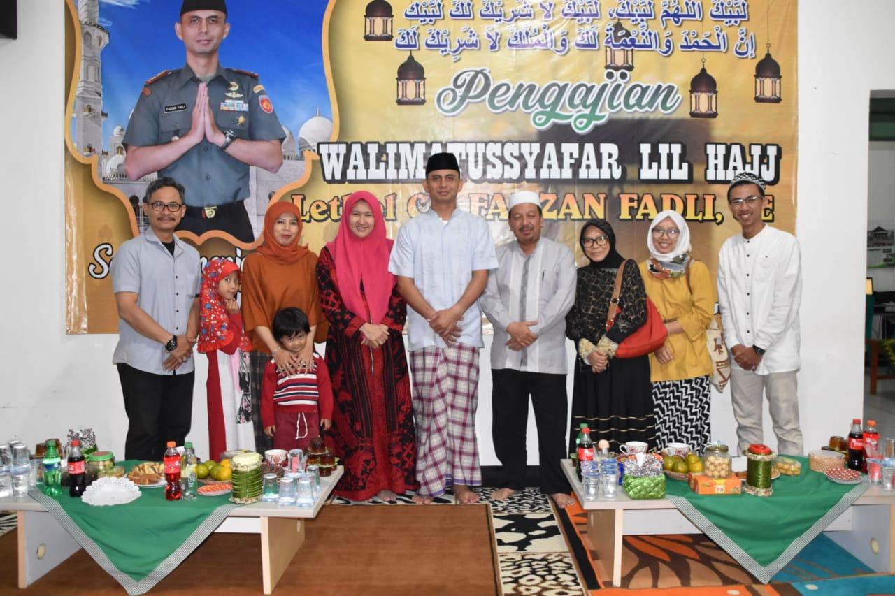 Berangkat Haji, Dandim Wonosobo Didoakan Berbagai Elemen Masyarakat